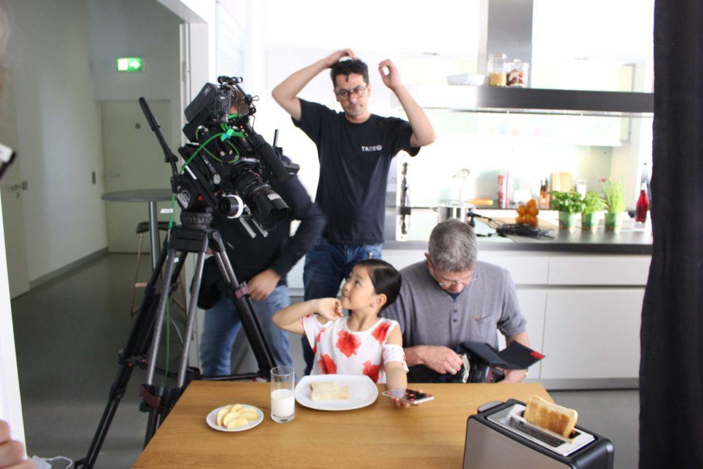 Kontaktanfrage Imagefilm Düsseldorf