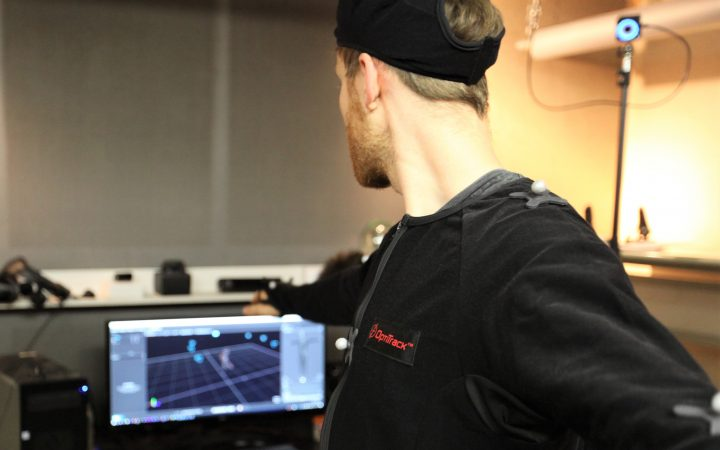 Live beim Motion Tracking