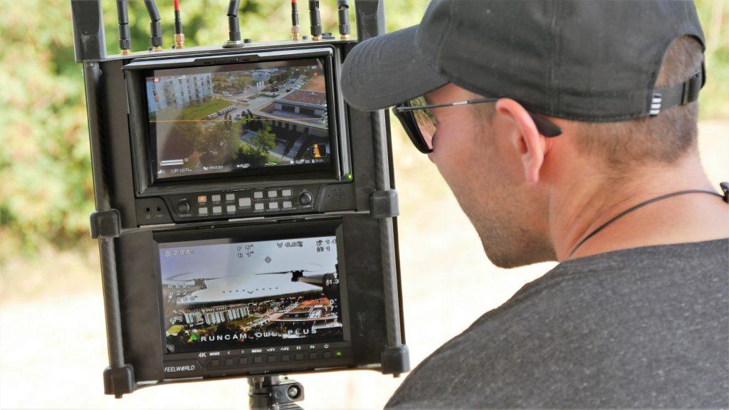 Filmproduktion mit Drohne - Luftaufnahmen