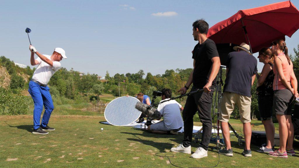 Filmproduktion Golf