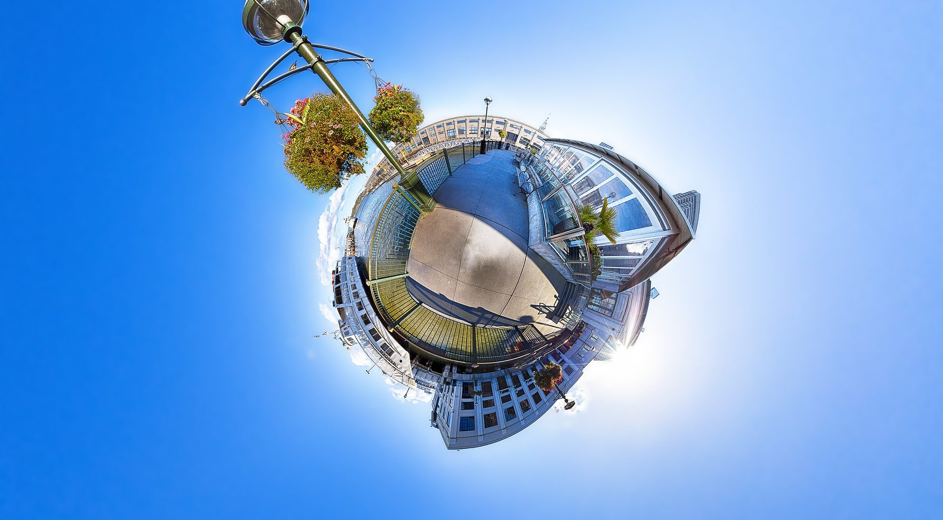 360 little planet view bei intervideo